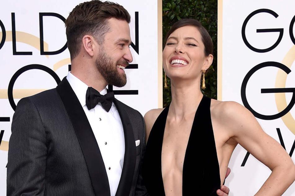 Gelten als eines der stärksten Paarein Hollywood. Bröckelt die Ehe zwischen Jessica Biel und Justin Timberlake nach den Paparazzi-Fotos?