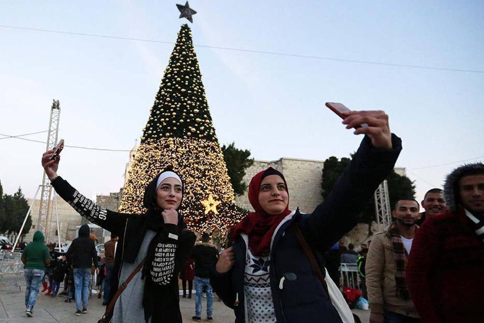 Schriftrollen kommen Heiligabend nach Bethlehem