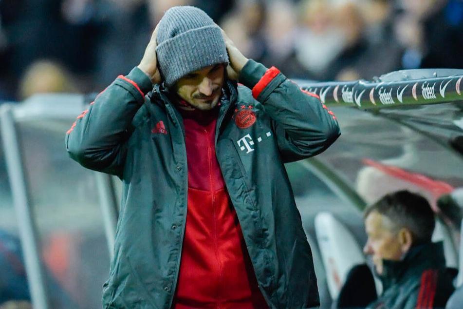 Mats Hummels wurde für seinen Patzer im Achtelfinale des DFB-Pokals kritisiert.
