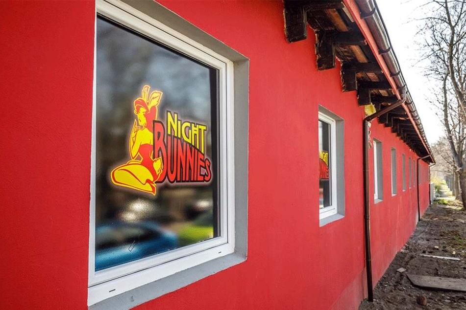"""Wird die Zwickauer Straße etwa zur Rotlicht-Meile? In zwei Wochen eröffnet dort das Bordell """"Night Bunnies""""."""