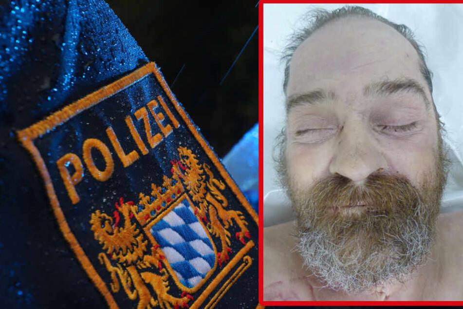 Wer kennt diesen Mann oder kann der Polizei Hinweise zur Klärung der Identität geben? (Bildmontage)