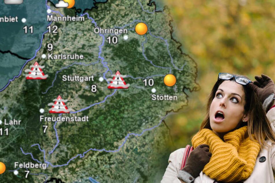 So heftig kommt jetzt das Herbst-Wetter auf uns zu