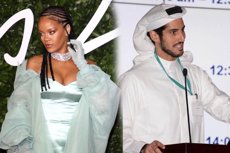 Rihanna schickt ihren Scheich wohl in die Wüste