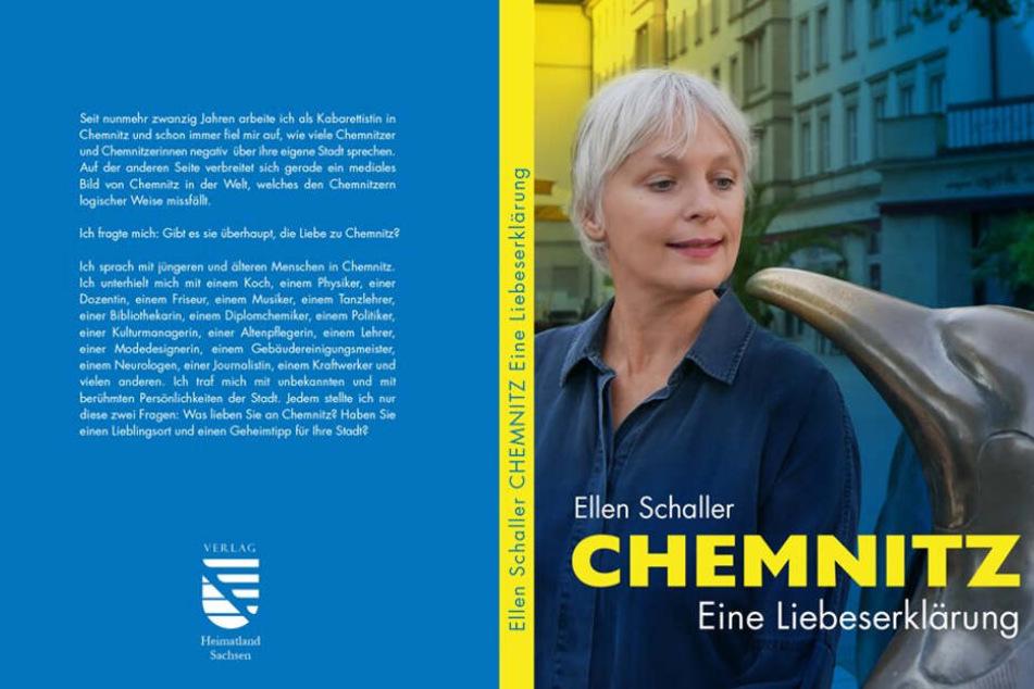 """Am 9. Dezember stellt die Kabarettistin ihr Buch """"Chemnitz, Eine Liebeserklärung"""" in der Stadtbibliothek im Tietz vor."""