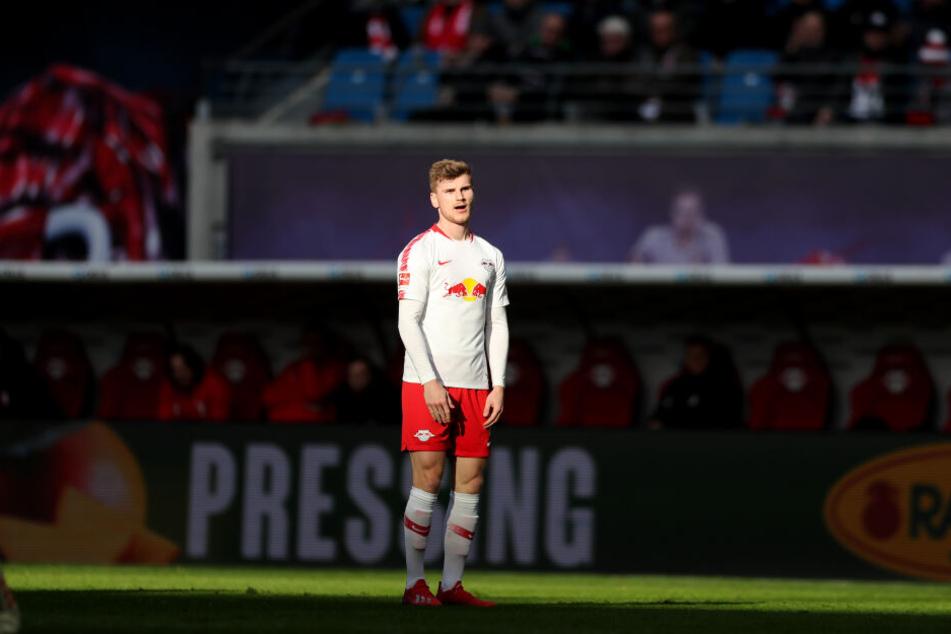 Timo Werner (23) ging am Samstag zu wenig ein Licht auf.