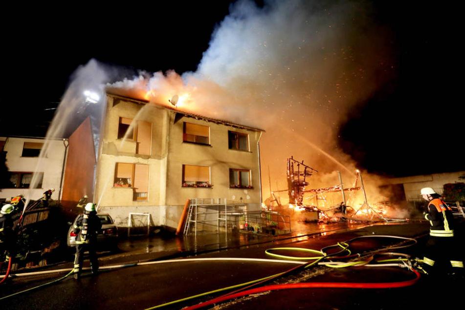 Verletzt wurde bei dem Brand glücklicherweise niemand.