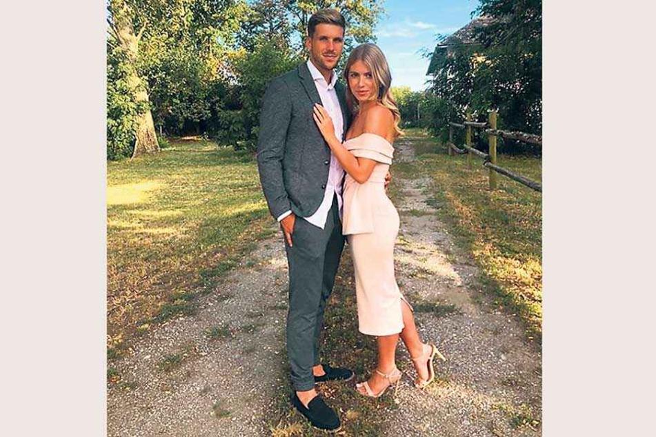 Verliebt wie am ersten Tag: Philipp Zulechner und seine Heidi, die in Österreich ein bekanntes Model ist.