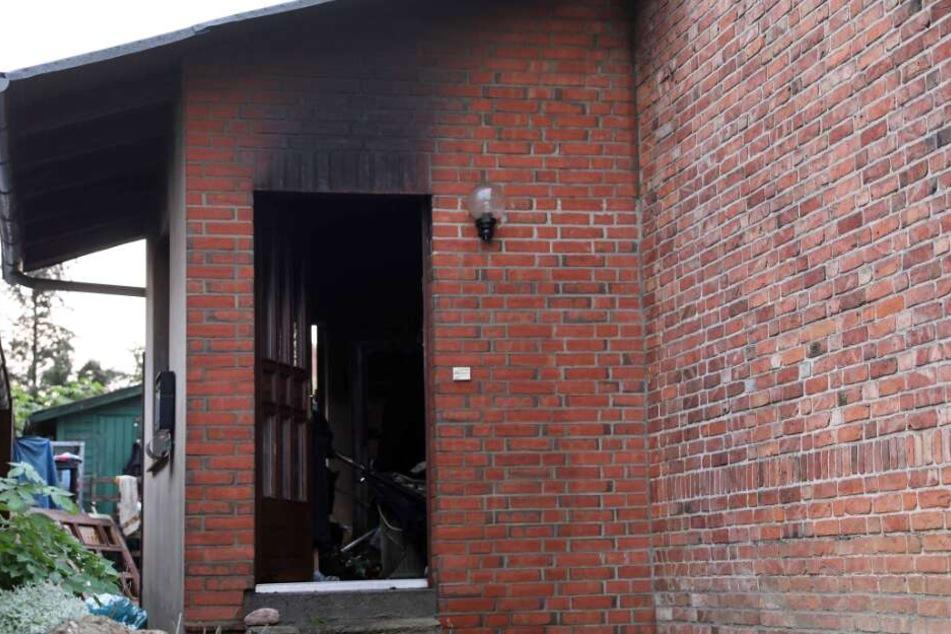 Nach dem Brand fand man in dem Haus eine Leiche.