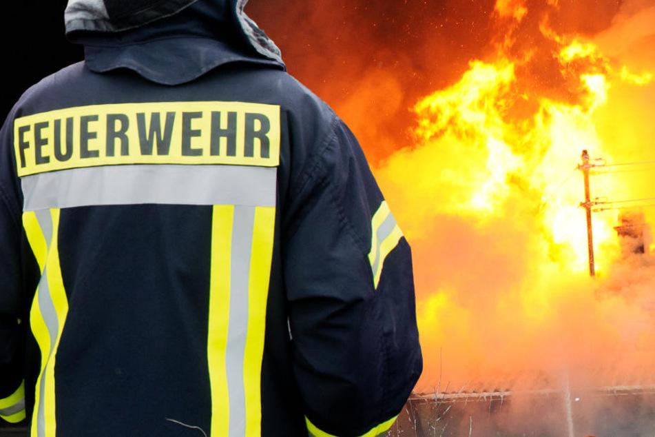 Flammen-Inferno: Über 200 Helfer im Einsatz