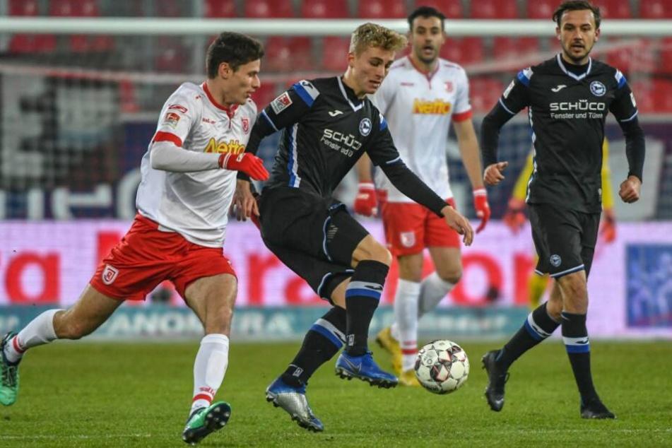 Gegen Jahn Regensburg fuhr der DSC einen 3:0-Sieg ein. Jetzt wollen sie auch Magdeburg schlagen.