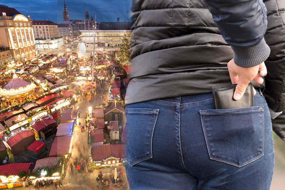 Die Bundespolizei warnt vor Taschendieben, die speziell auf Weihnachtsmärkten unterwegs sein könnten.