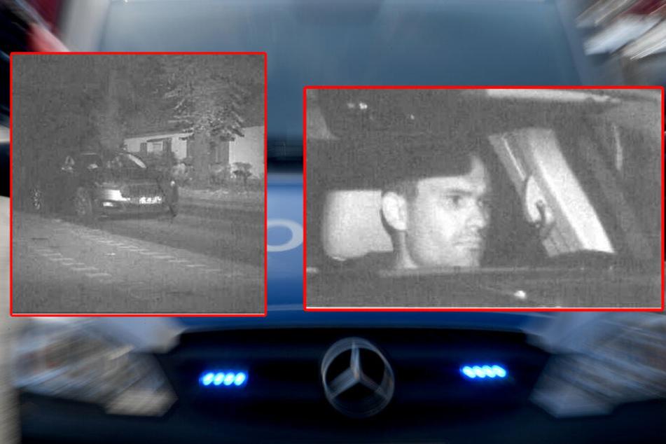 Bei Flucht geblitzt: Wer kennt diesen Autoknacker?