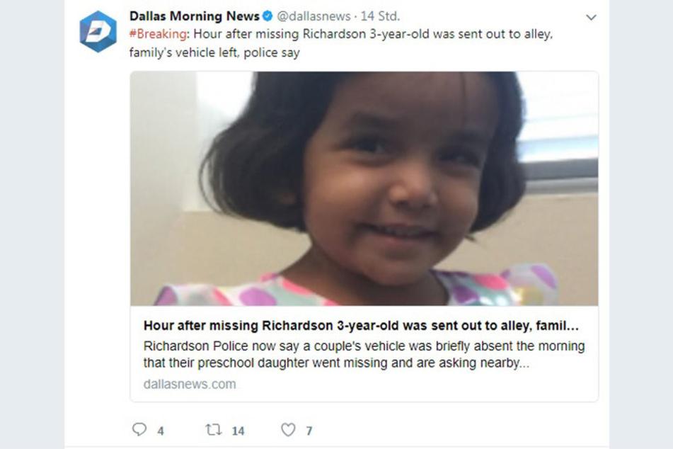 Sherin Wesley gilt seit dem 10. Oktober 2017 offiziell als vermisst.