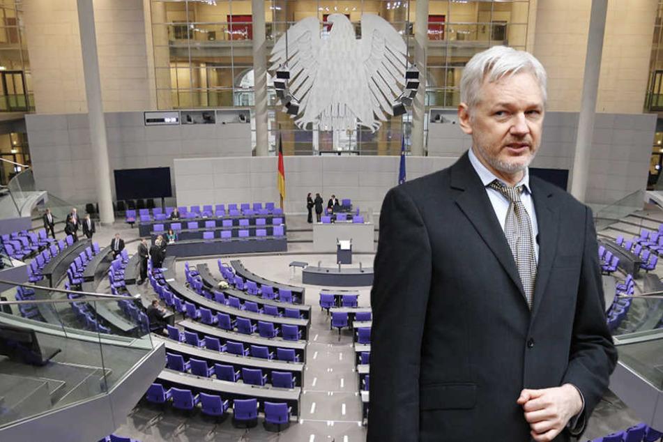 WikiLeaks: Sitzt ein Maulwurf im Bundestag?