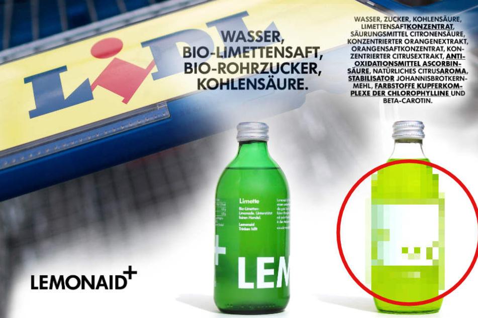 """""""Dreiste Kopie"""": Täuscht Lidl mit dieser Limo seine Kunden?"""