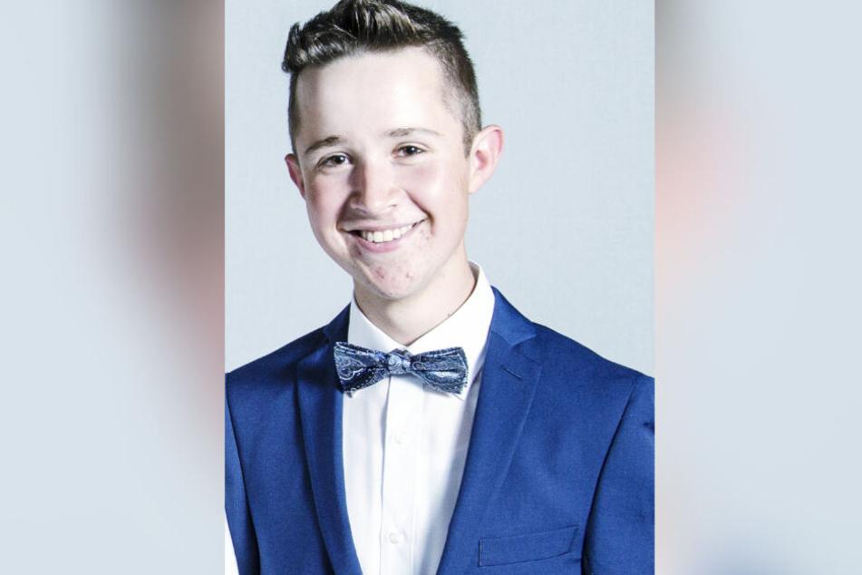 Der 17-jährige Rico Hennel ist angehender Kaufmann für Büromanagement.