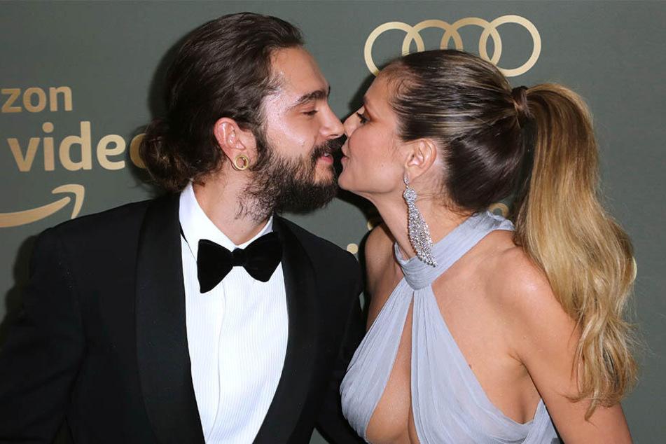 Stellen ihre Lilebe gerne zur Schau: Heidi Klum und Tom Kaulitz.