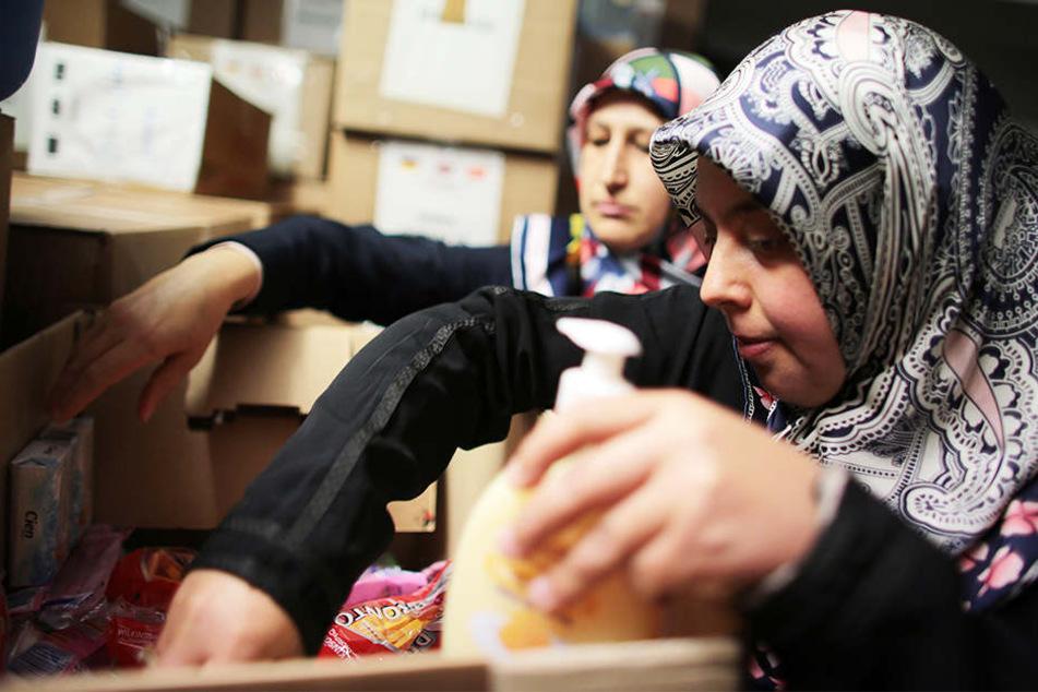 Laut Statistik ist fast jeder zweite Muslime in der Flüchtlingshilfe aktiv.