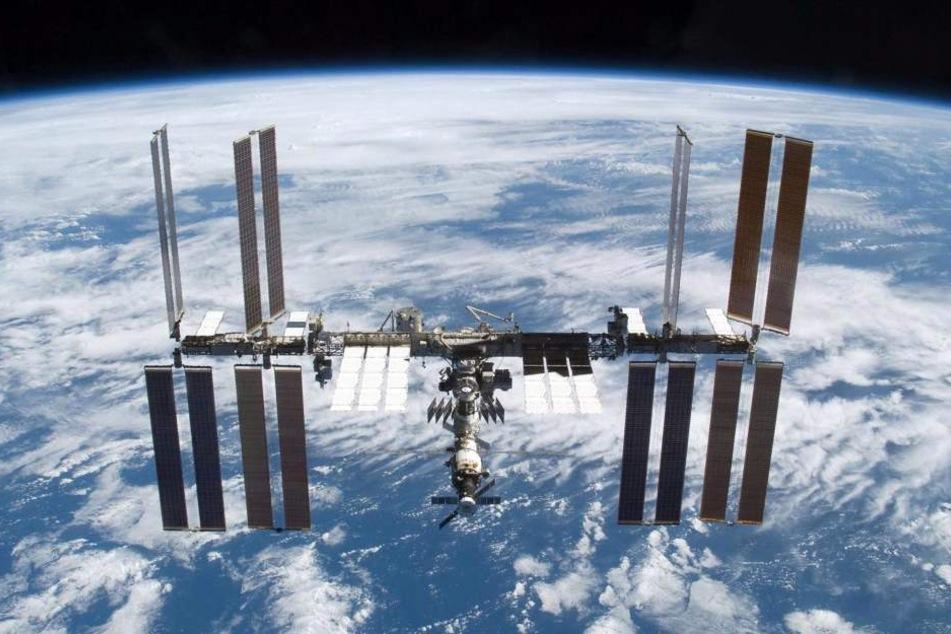 Die ISS-Besatzung geht vor einer erhöhter Sonnenaktivität in Deckung.