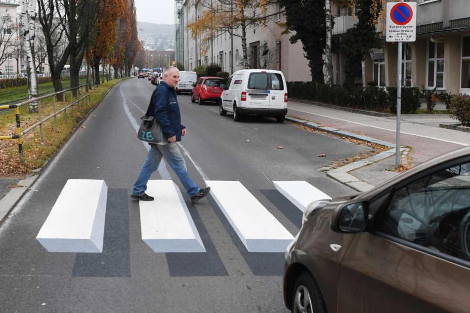 In Braunschweig könnte es bald einen 3D-Zebrastreifen geben. (Symbolbild)