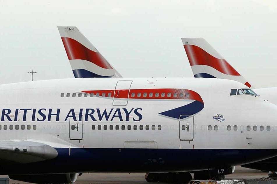 """Auf einem Flug mit British Airways wurde ein Passagier """"aufgefressen""""."""