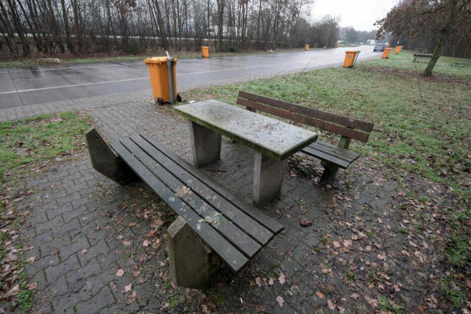 """Der Parkplatz """"Fuchsbuckel"""" liegt an der A5."""