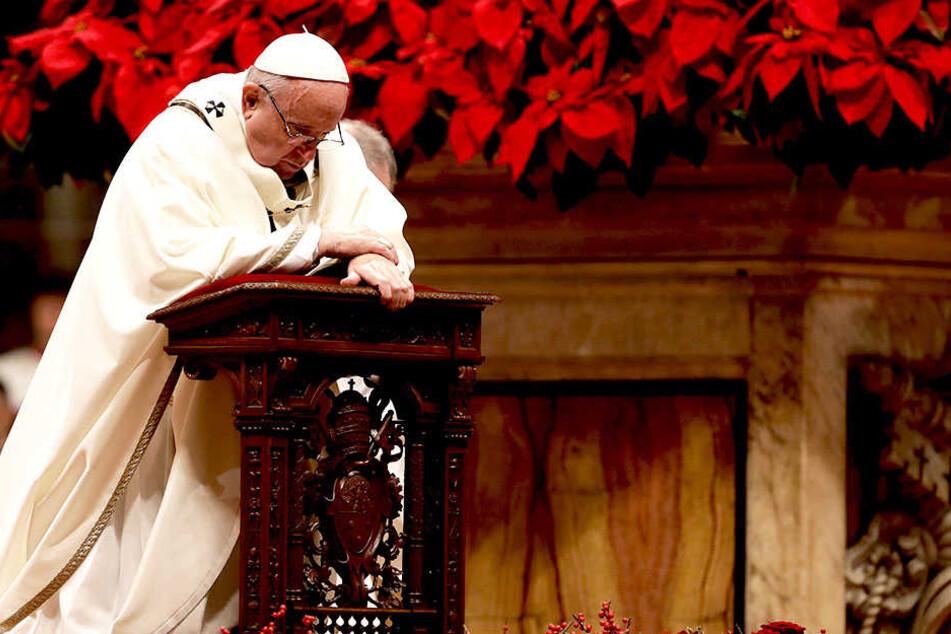 "Papst kritisiert ""unersättliche Gier"" der Menschen"
