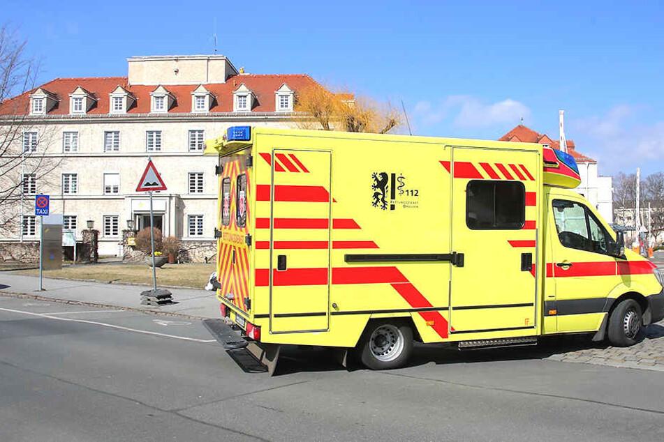 Dresdner Kliniken tief in den roten Zahlen