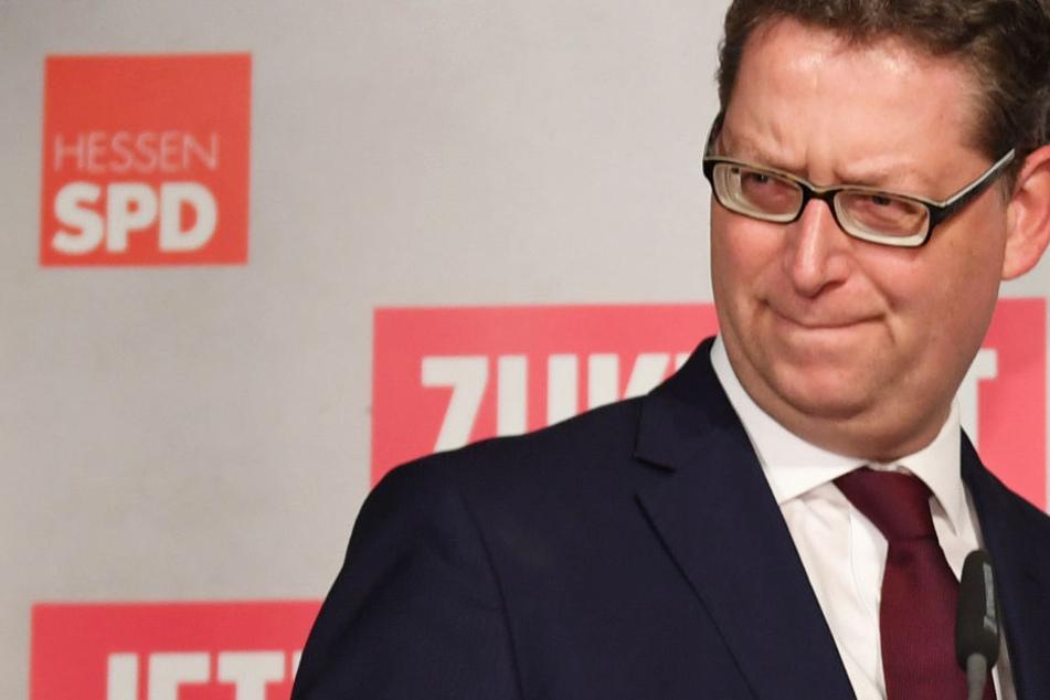 Bei der Landtagswahl im Oktober mussten die hessische SPD und ihr Chef Schäfer-Gümbel schwere Verluste hinnehmen.