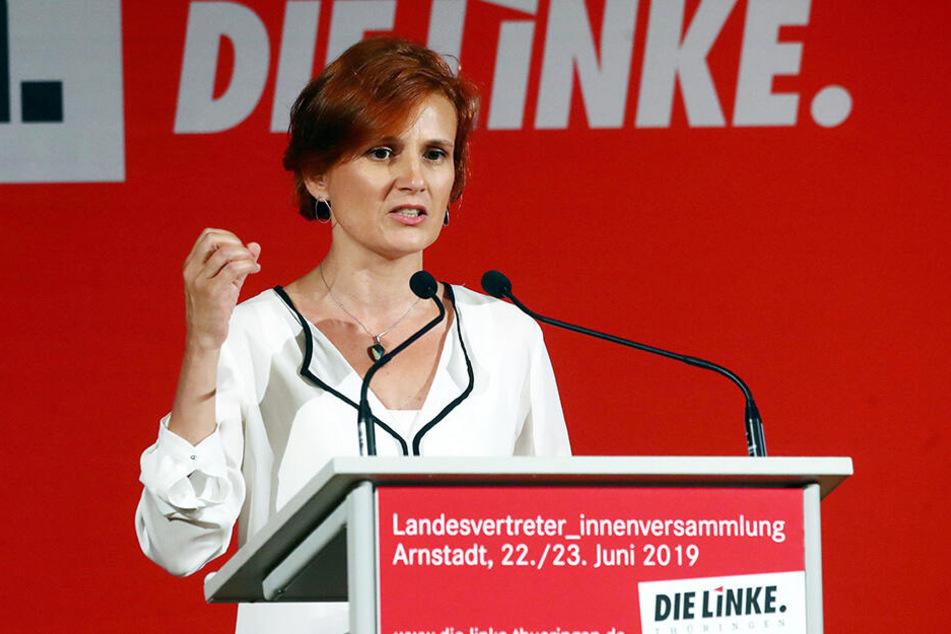 Auch Linken-Politikerin Katja Kipping fand lobende Worte für den Thüringer Landesvater.