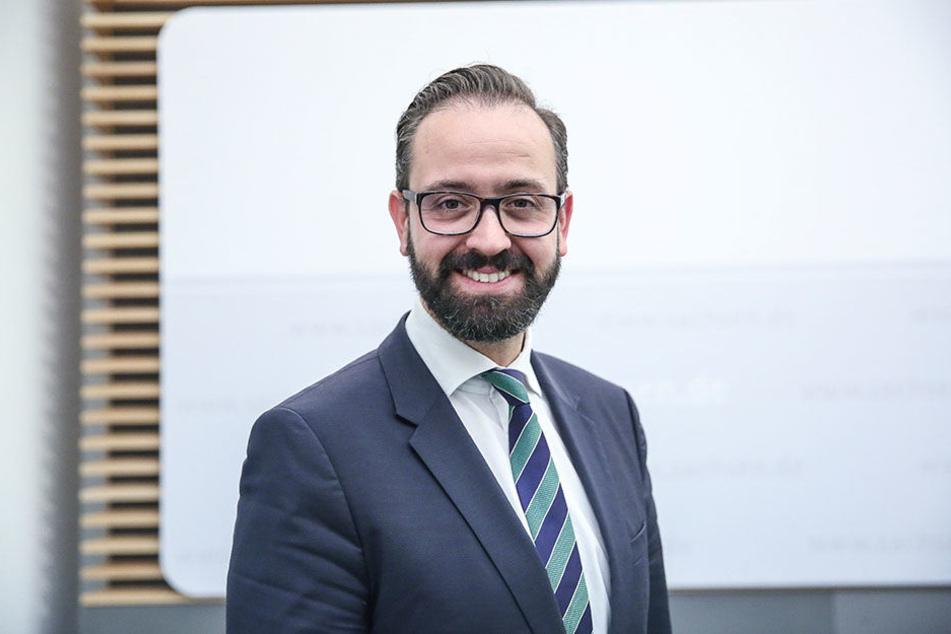 """Sachsens Justizminister Sebastian Gemkow (40, CDU) lädt in die Gerichte des Freistaats zu den """"Tagen der Justiz""""."""