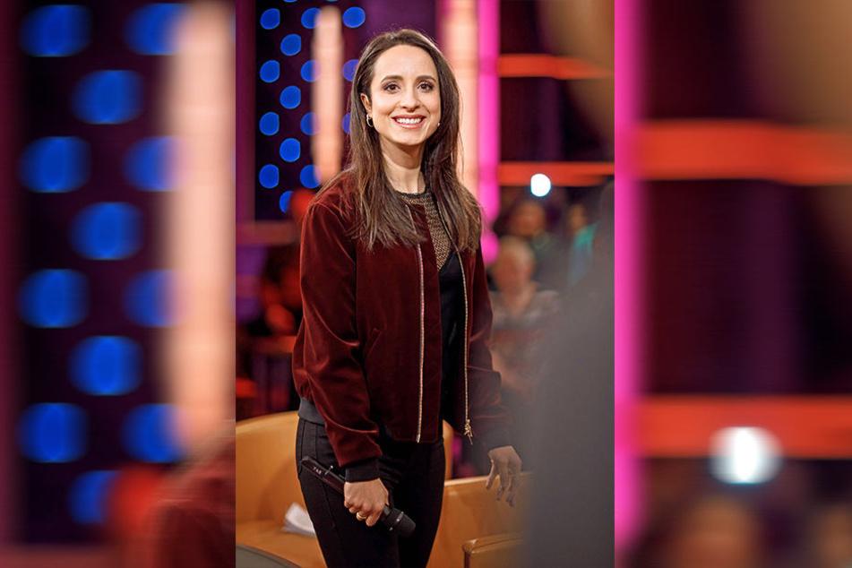 """Stephanie Stumph (34) moderiert neben dem MDR-Riverboat nun auch die Musikreihe """"Privatkonzert""""."""