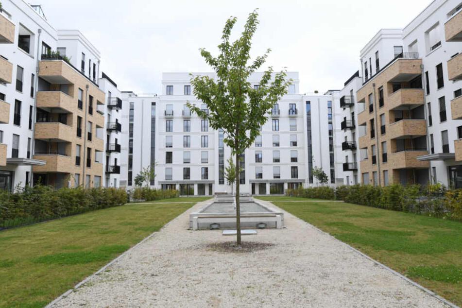 Das Europaviertel von Frankfurt ist noch nicht fertig, doch die Wohnungen werden nicht ausreichen.