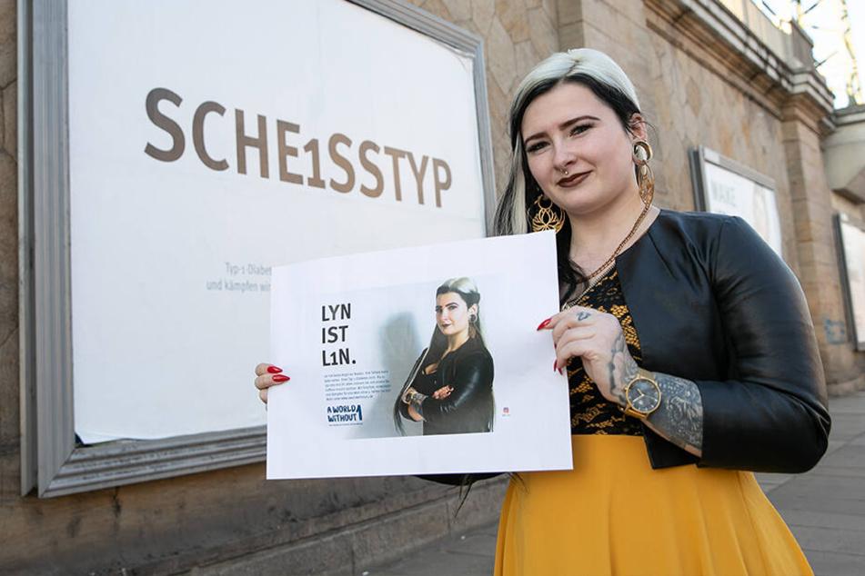 Sie leidet seit Jahren an Diabetes Typ 1: Tattoo-Lady Lyn wird Werbestar