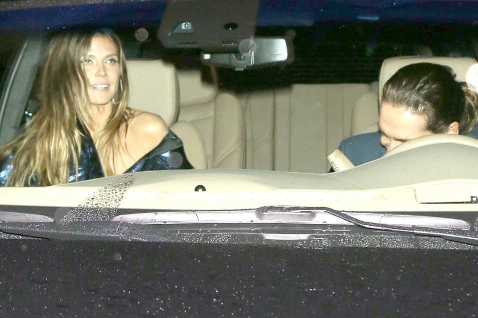 Nach einem Restaurant-Besuch fuhren die beiden gemeinsam in Toms Wagen durch die Nacht.