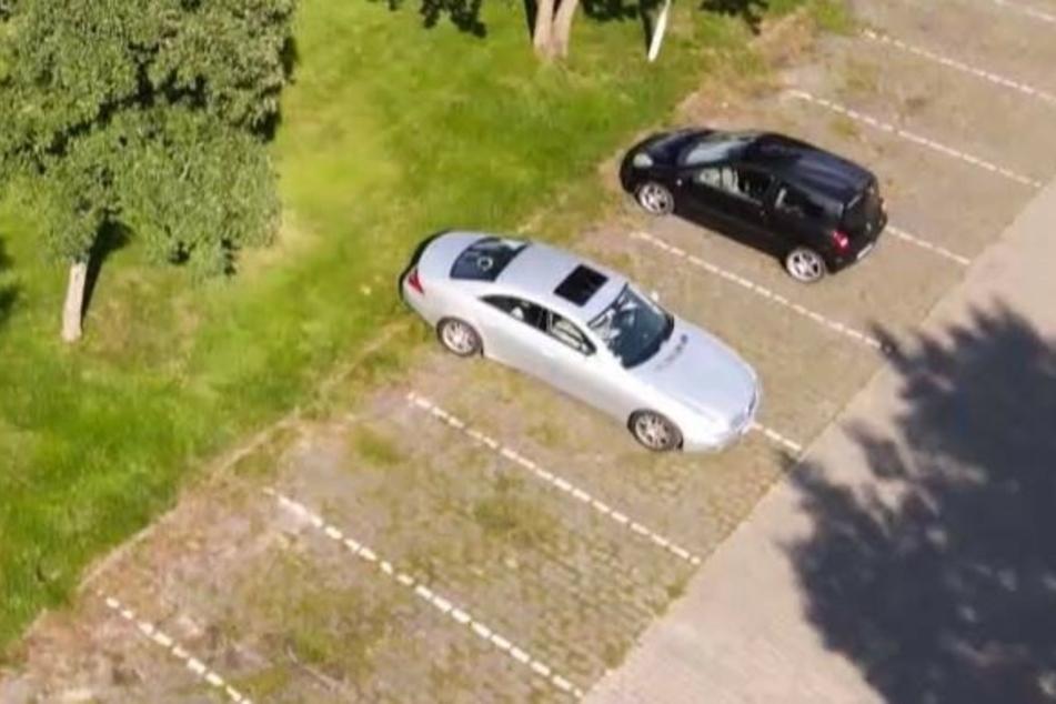 Perfekt eingeparkt. Zumindest fast.