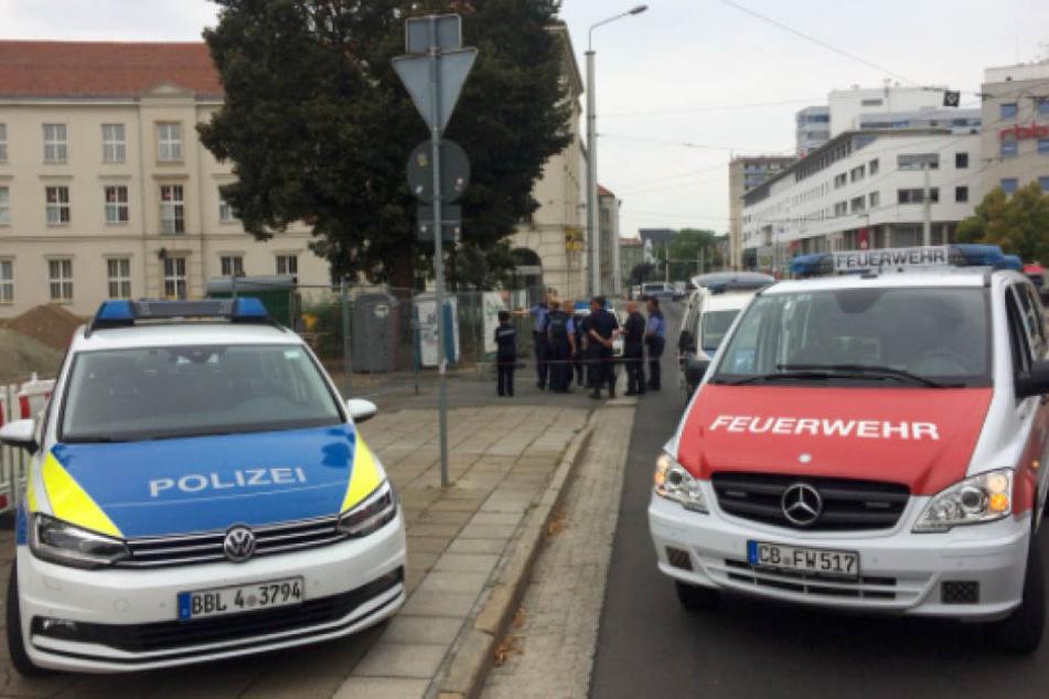 Cottbuser City wegen verdächtigem Paket evakuiert