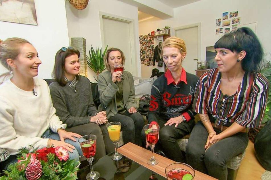 Die Kandidatinnen aus Erfurt (v.li.): Sarah, Natali, Cornelia, Kathrin und Christin.