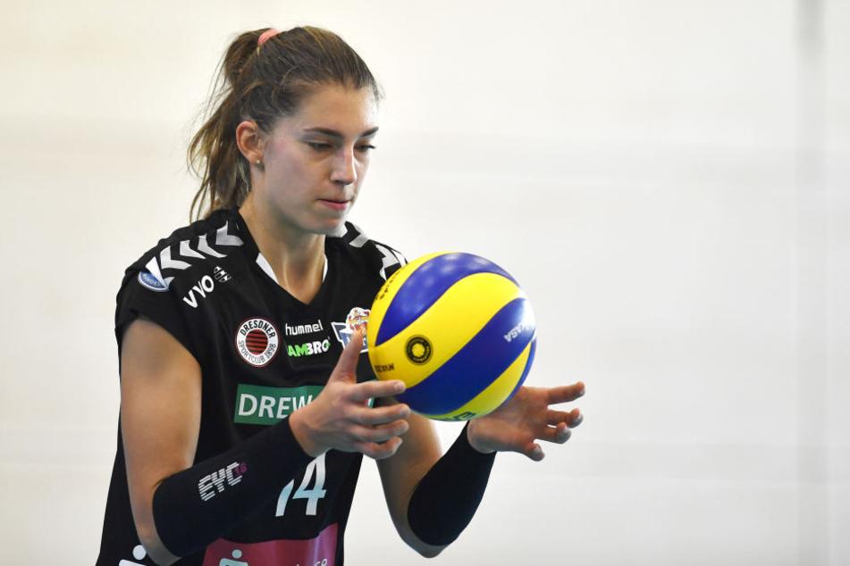 Nikola Radosova war beim 3:1-Sieg in Münster mit 16 Punkten die Topscorerin und wurde zudem als wertvollste Spielerin ausgezeichnet.