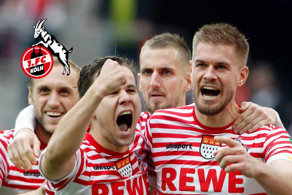 Die Profis des 1. FC Köln feiern die Sessionseröffnung am 11. November in der Stadt mit.