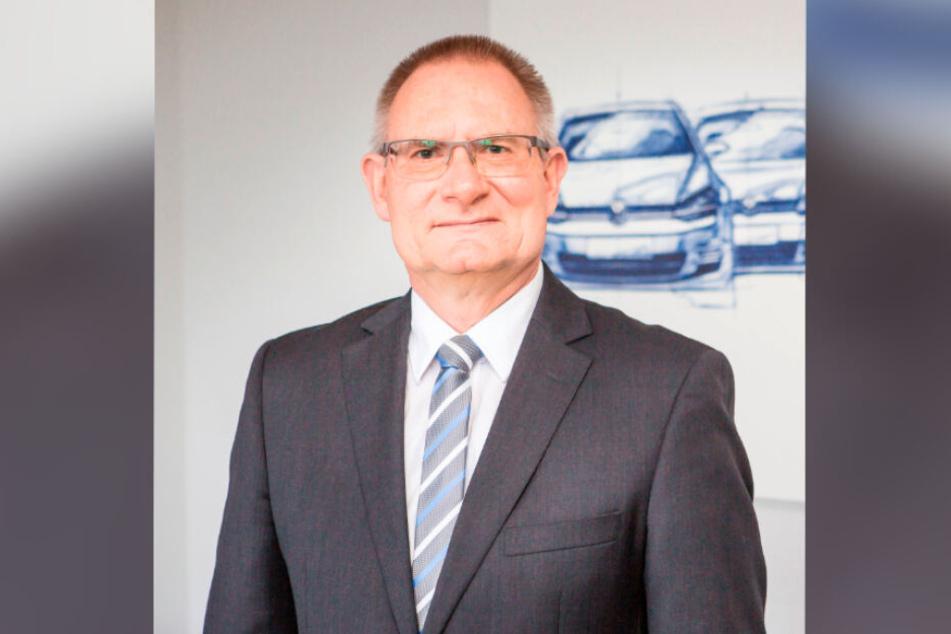 Matthias Bursig (59) ist neuer Finanzchef bei Volkswagen Sachsen.