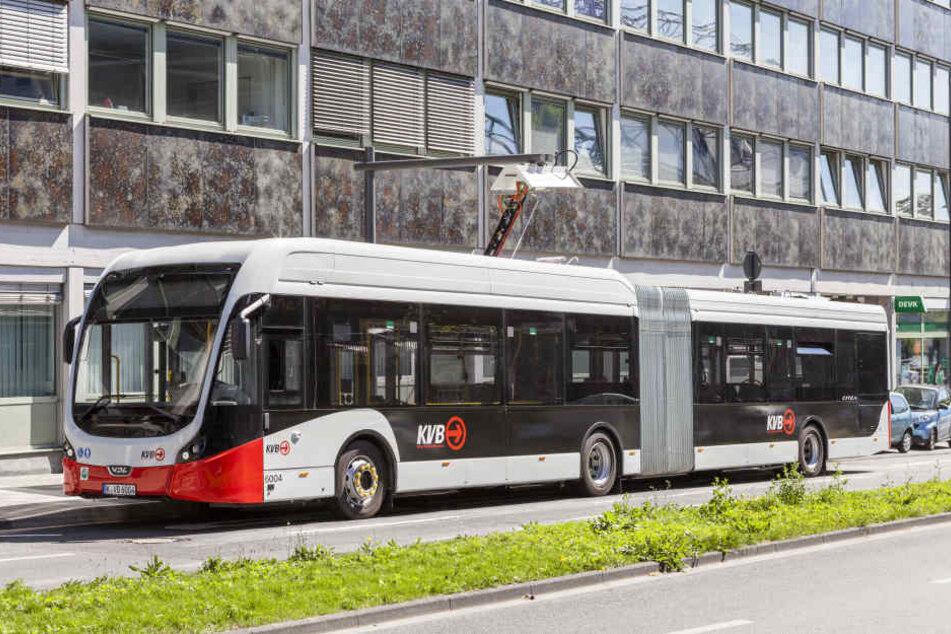 Bis 2030 will die KVB vollständig auf E-Busse setzen.