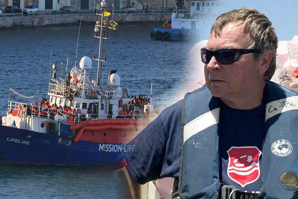"""""""Mission Lifeline""""-Kapitän wirbt für mehr Menschlichkeit"""