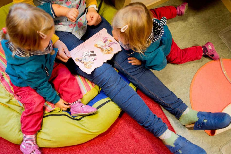 Noch vor Ostern müssen sich die Eltern von Kindergartenkindern auf Arbeitsniederlegungen einstellen. (Symbolbild)
