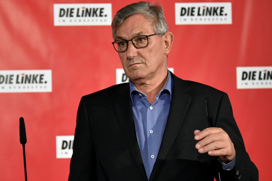 Linke-Chef Riexinger hält an Flüchtlingspolitik fest