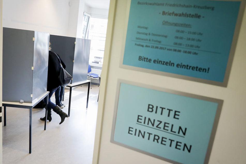 Am Sonntag findet ebenfalls die Bundestagswahl statt.