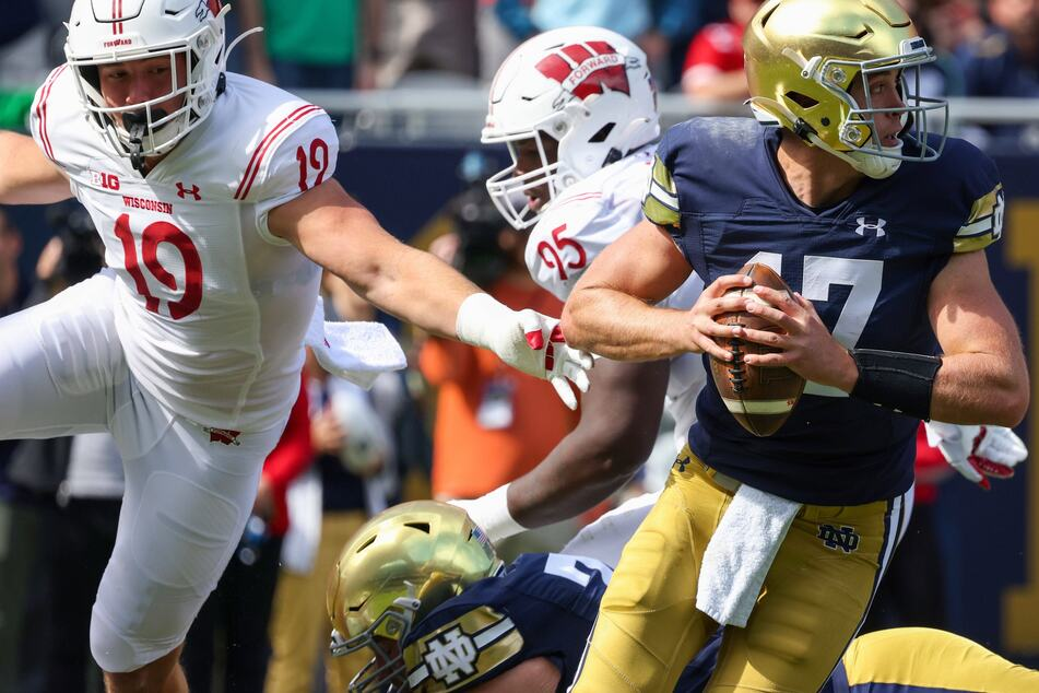 NCAA Football: The Fighting Irish fight through injury for a historic win over the Badgers