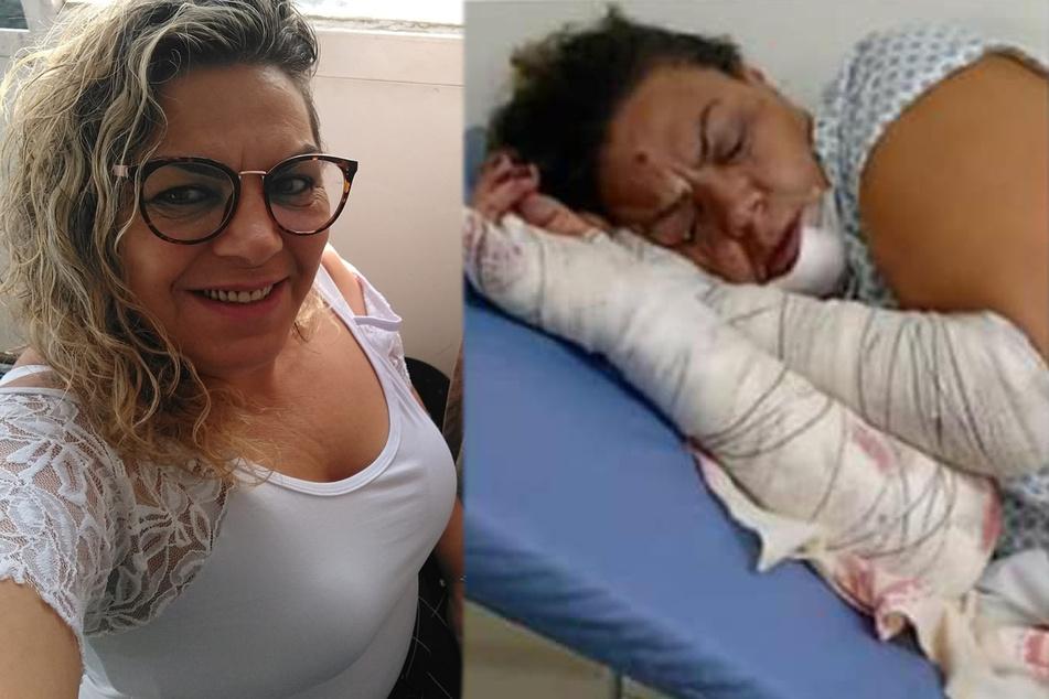 Die 49 Jahre alte Edileuza Ramalho wurde Opfer von einem grausamen Anschlag. Steckt ihr Ex-Freund dahinter?
