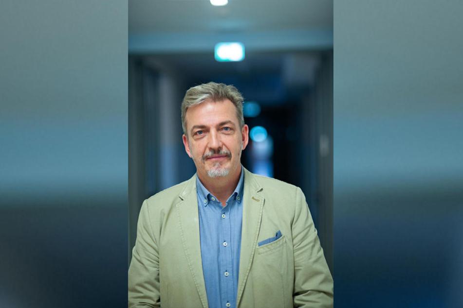 Jens Hertel (55) ist Oberstaatsanwalt in Dresden und engagiert sich ehrenamtlich gegen Alkohol am Steuer.