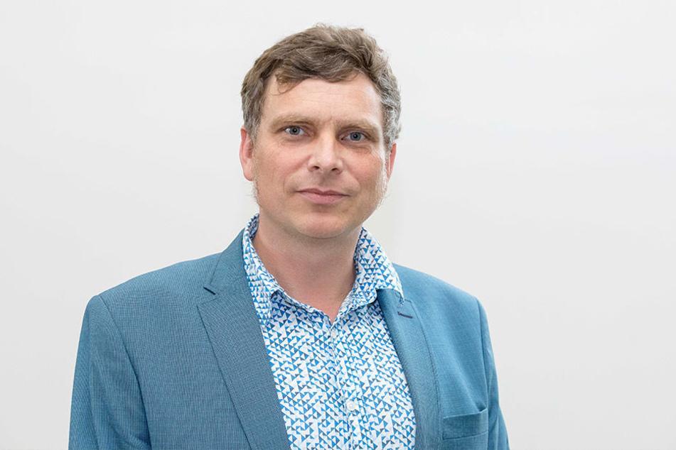 Fraktionschef Thomas Löser (46, Grüne).